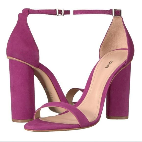 fdc3ed82cec SCHUTZ Jeannine Block Heel Sandals